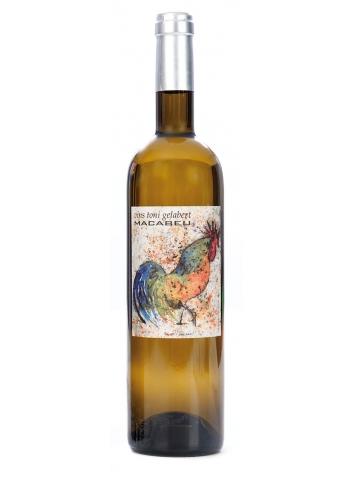 Botella de vino edición Crespi Alemany. Bodegas Toni Gelabert.