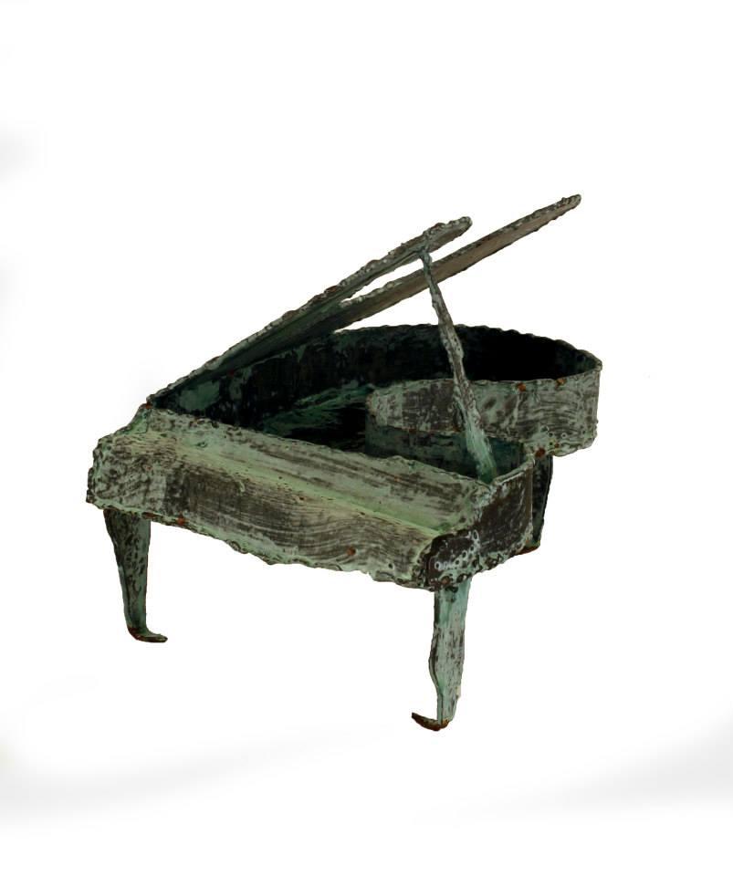 Piano Escultura en Hierro