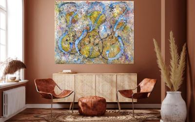 Ideas para decorar los espacios de tu casa con cuadros