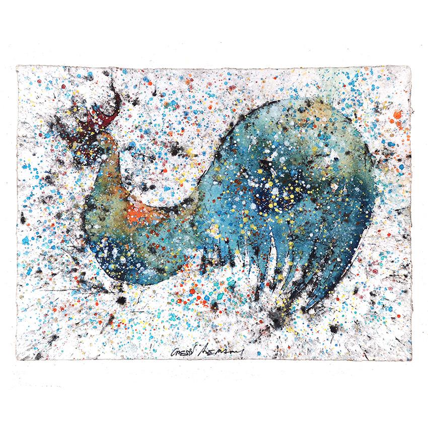 Gallo azulado